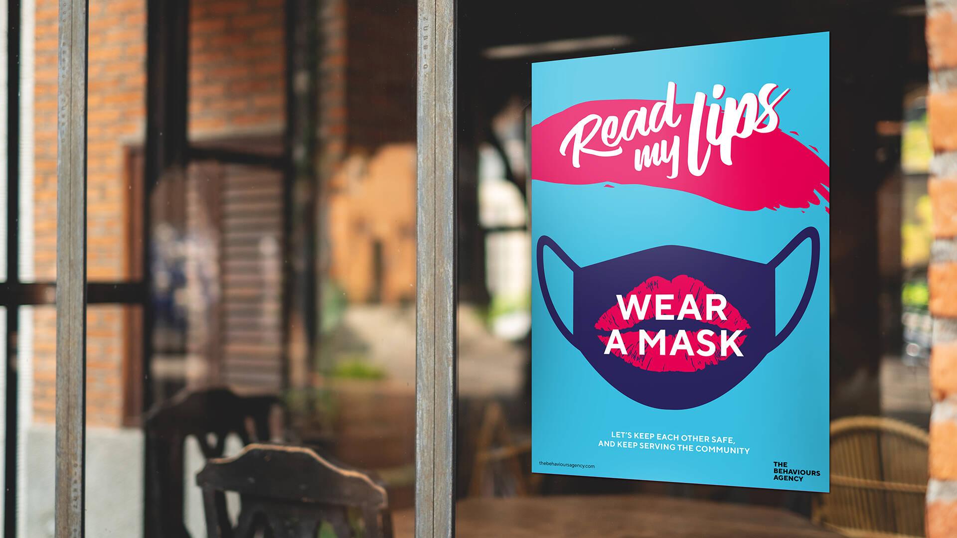 Behavioural-led mask posters