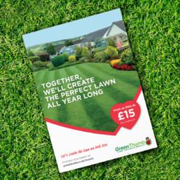 Greenthumb lawn love campaign